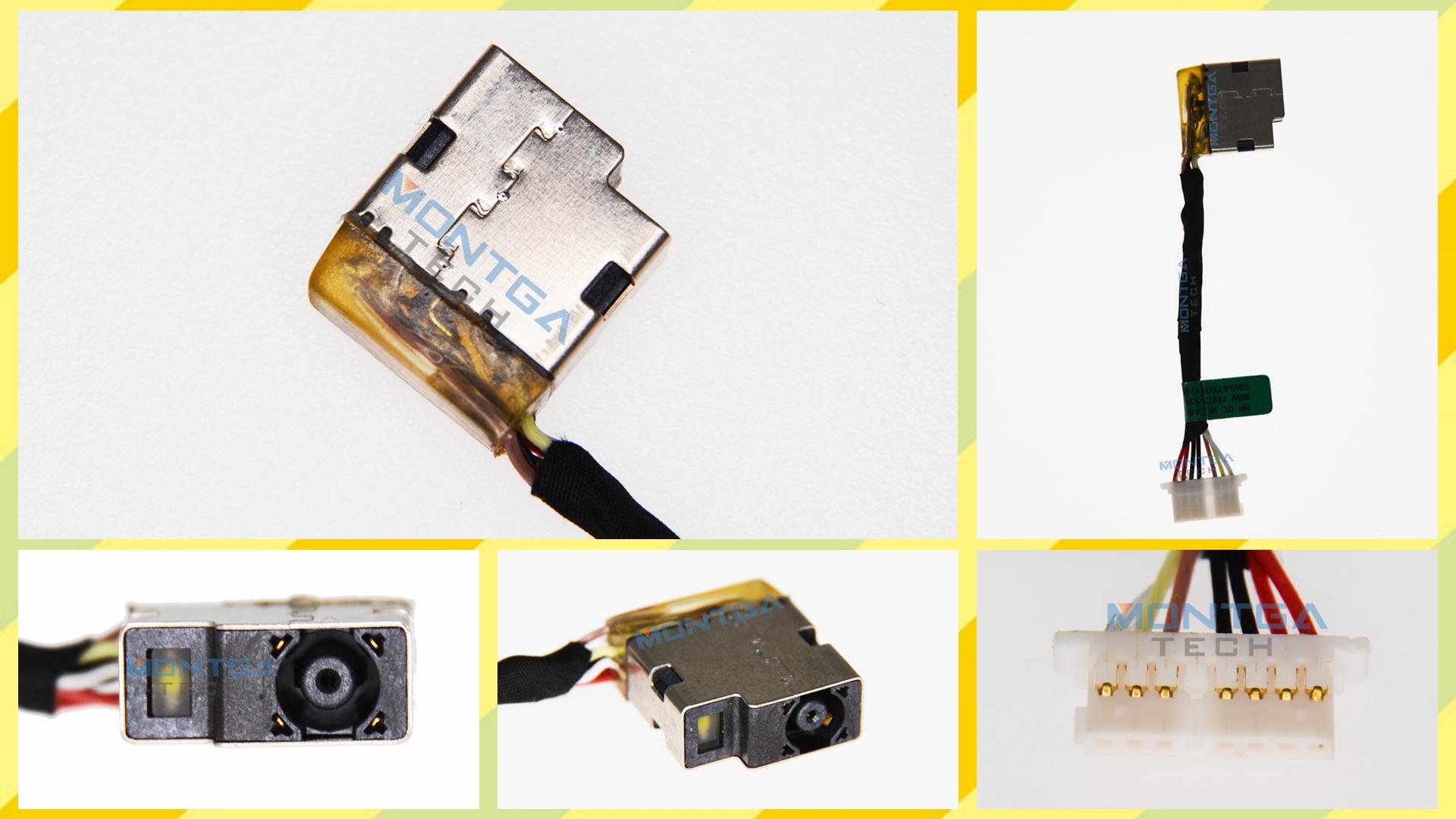 HP 13-AH007NF charging connector, HP 13-AH007NF DC Power Jack, HP 13-AH007NF DC IN Cable, HP 13-AH007NF Power Jack, HP 13-AH007NF plug, HP 13-AH007NF Jack socket, HP 13-AH007NF connecteur de charge,
