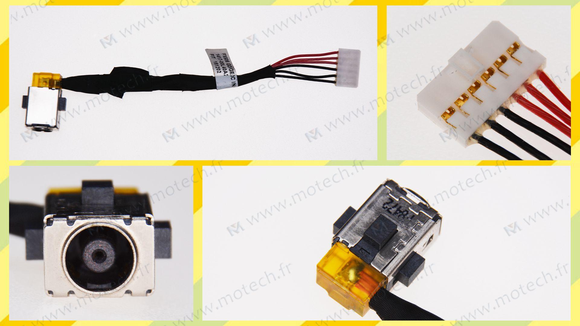 Asus TUF765GE-EV088T charging connector, Asus TUF765GE-EV088T DC Power Jack, Asus TUF765GE-EV088T DC IN Cable, Asus TUF765GE-EV088T Power Jack, Asus TUF765GE-EV088T plug, Asus TUF765GE-EV088T Jack socket, Asus TUF765GE-EV088T connecteur de charge,