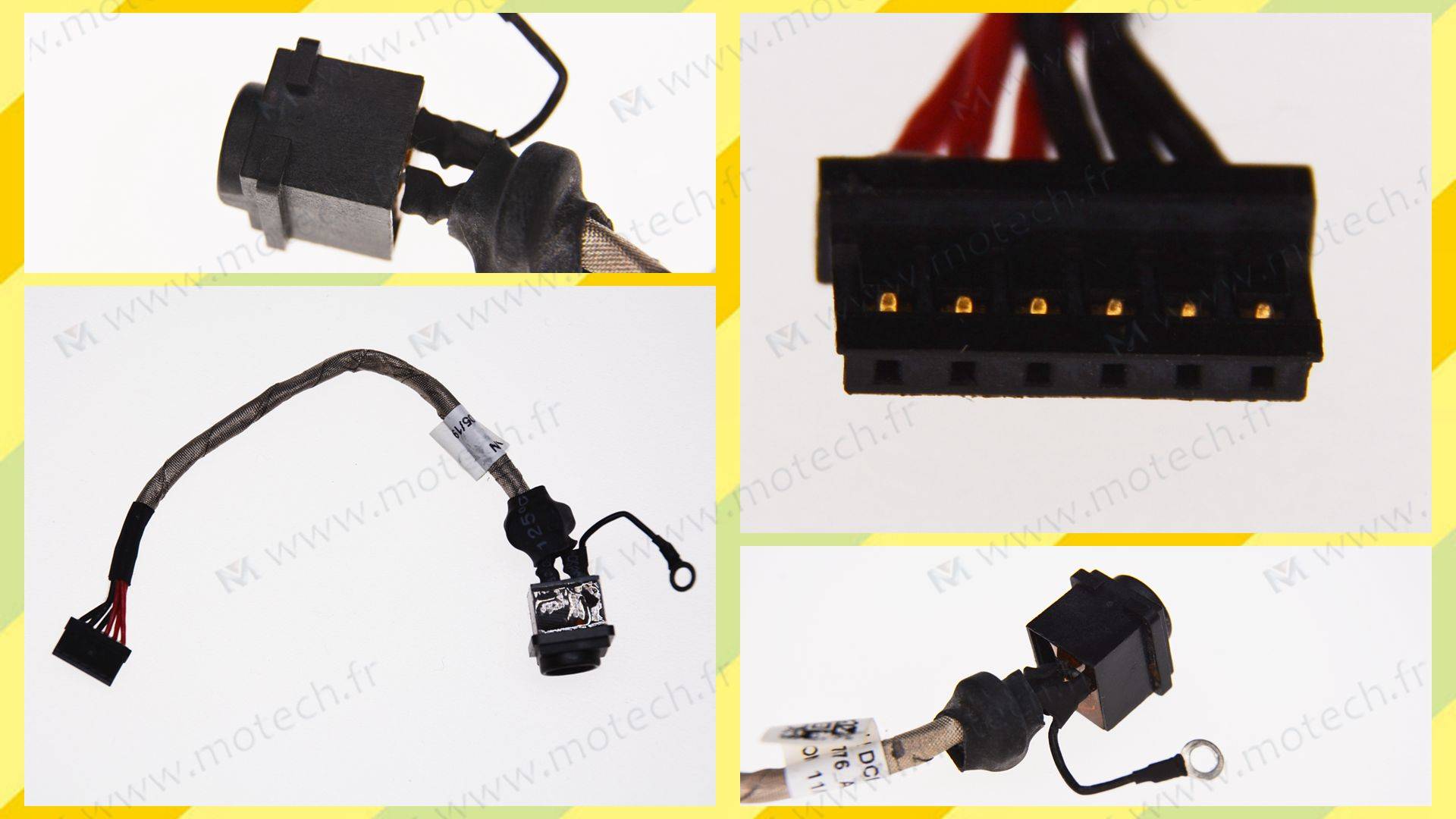 Sony VPCF2390X charging connector, Sony VPCF2390X DC Power Jack, Sony VPCF2390X DC IN Cable, Sony VPCF2390X Power Jack, Sony VPCF2390X plug, Sony VPCF2390X Jack socket, Sony VPCF2390X connecteur de charge,