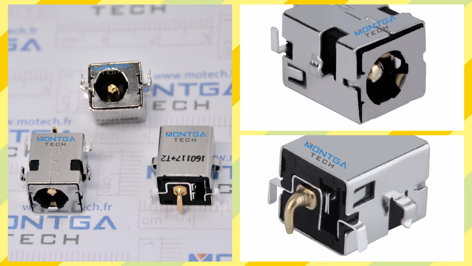 Asus B53V charging connector, Asus B53V DC Power Jack, Asus B53V Power Jack, Asus B53V plug, Asus B53V Jack socket, Asus B53V connecteur de charge,