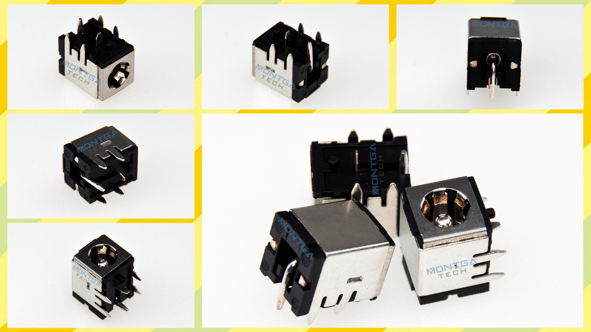Compaq R3140CA charging connector, Compaq R3140CA DC Power Jack, Compaq R3140CA Power Jack, Compaq R3140CA plug, Compaq R3140CA Jack socket, Compaq R3140CA connecteur de charge,
