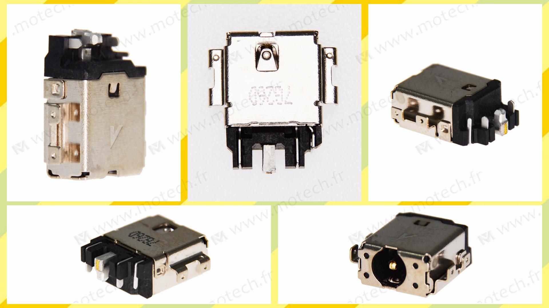 Asus TP401MA DC Jack, Asus TP401MA Jack alimentation, Asus TP401MA Power Jack, Asus TP401MA Prise Connecteur, Asus TP401MA Connecteur alimentation, Asus TP401MA connecteur de charge,