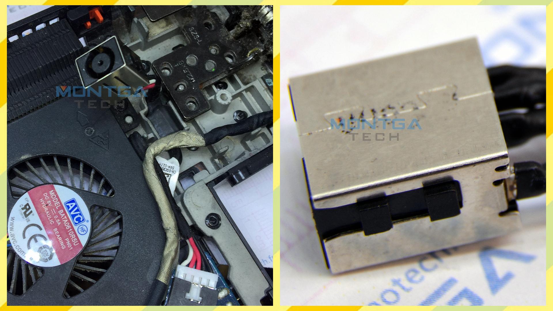 Réparation Prise Connecteur DELL Latitude E5440, Réparation DC Jack DELL Latitude E5440,Réparation Connecteur de charge DELL Latitude E5440,Réparation Connecteur alimentation DELL Latitude E5440