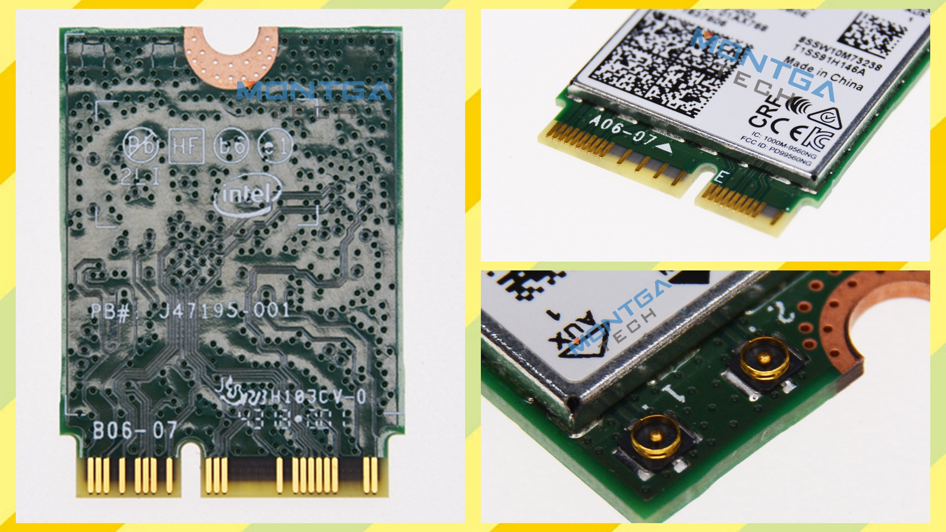 Asus UX580G WiFi card, Asus UX580G Wireless card, Asus UX580G Connection card, internal WiFi card Asus UX580G, WiFi Asus UX580G,